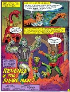 SnakeFace-Comic