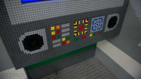 Interior shot of the cockpit.