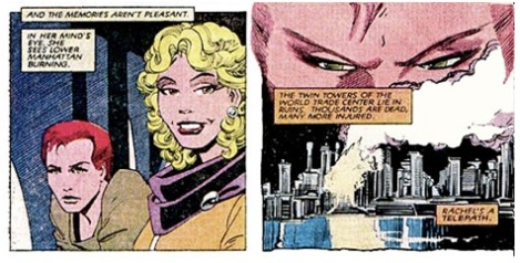 From Uncanny Xmen #188, written by Chris Claremont and pencilled by John Romita Jr