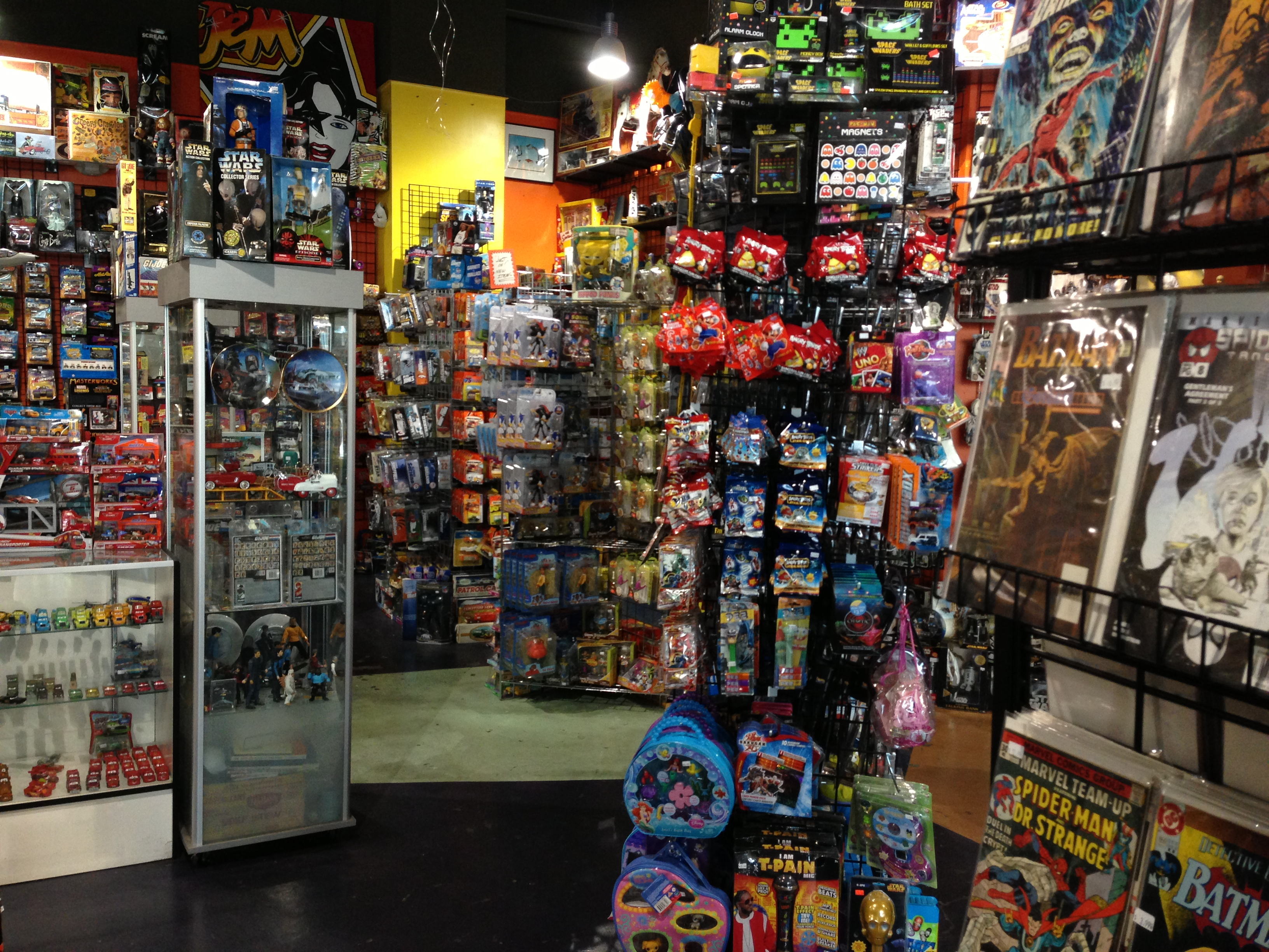 Life In Plastic My Visit To The Las Vegas Toy Shack