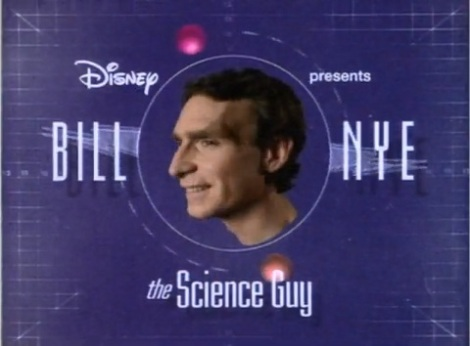 Bill Nye the Science Guy tv show logo