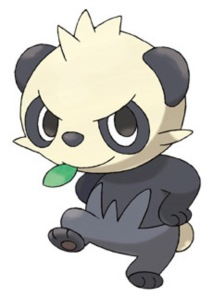 """I heard if you give Pancham a Light Stone, it'll turn into Arceus! It's true! Jimmy Tudeski told me!"""