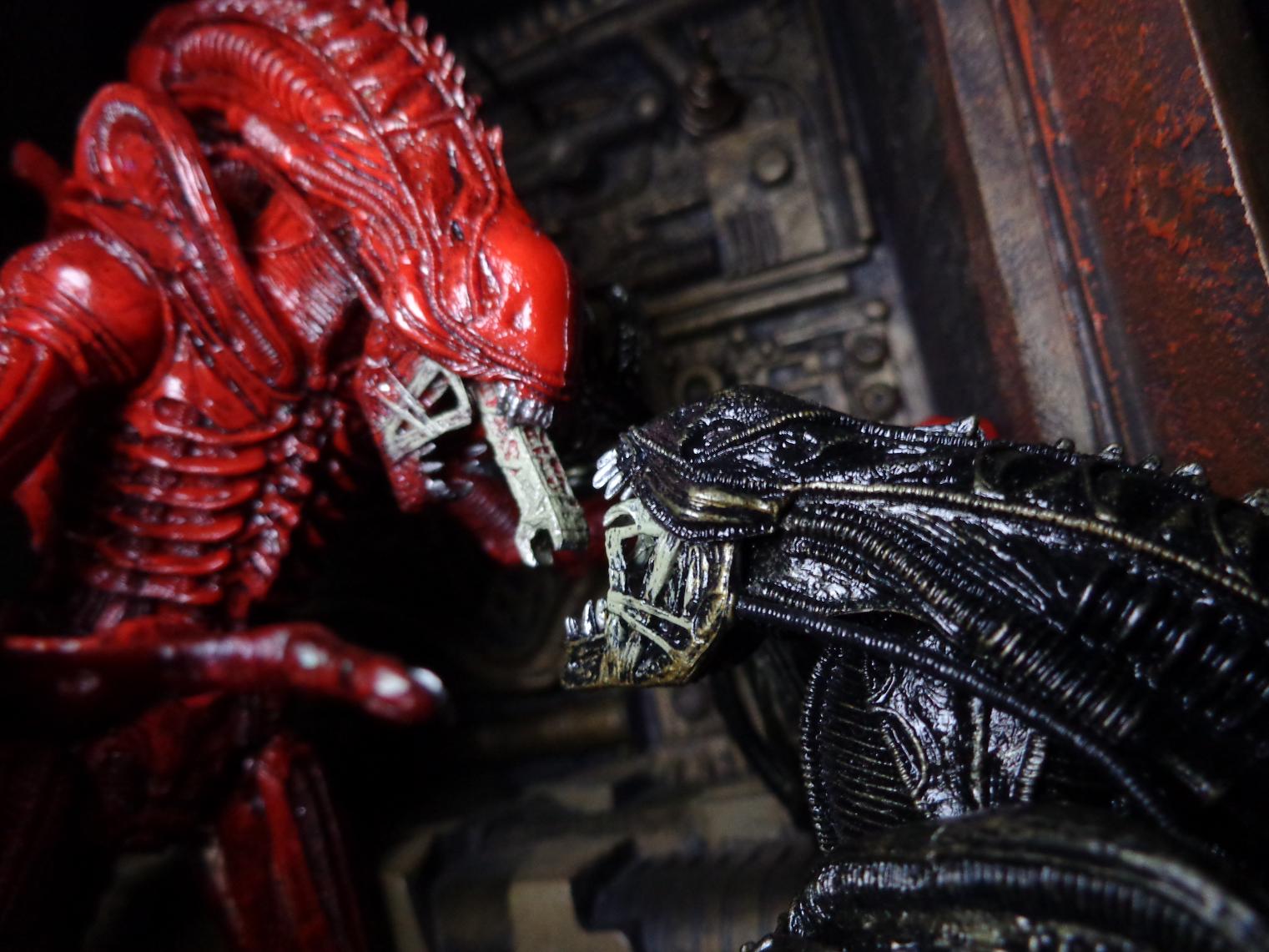 Life In Plastic: TOY REVIEW: Aliens Genocide (NECA Toys) | Nerditis