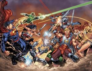 He-Man vs Superman_DC Comics