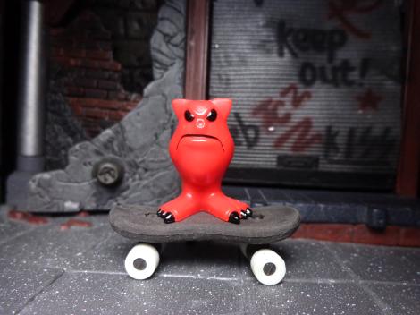 Mordles-Skateboard