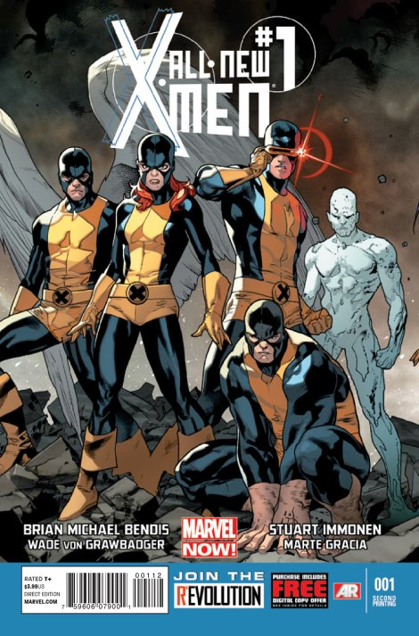 All-New_X-Men_Vol_1_1_Second_Printing_Variant