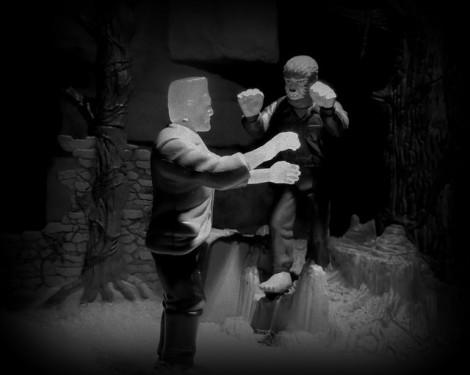 FrankensteinVsWOlfman