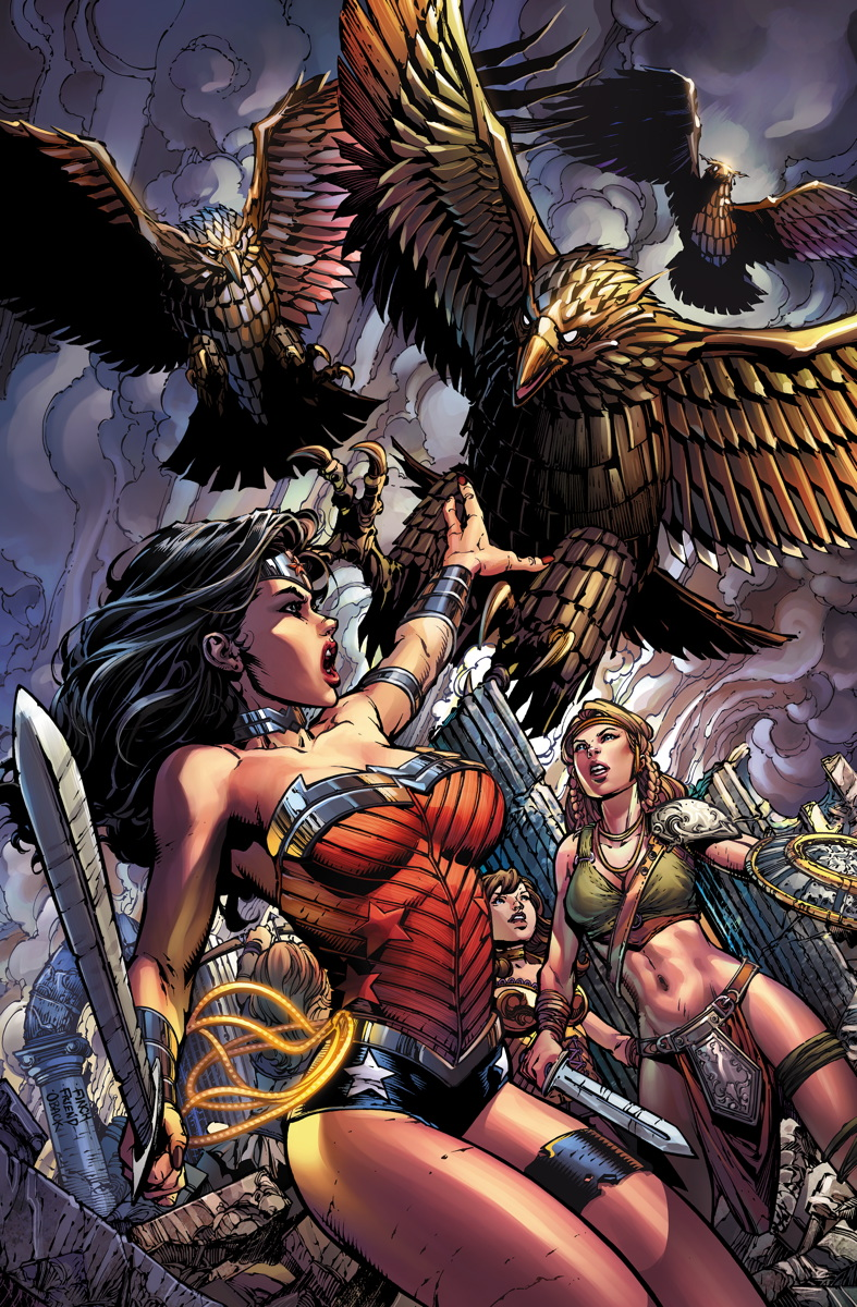 comic book storytelling  wonder woman  36