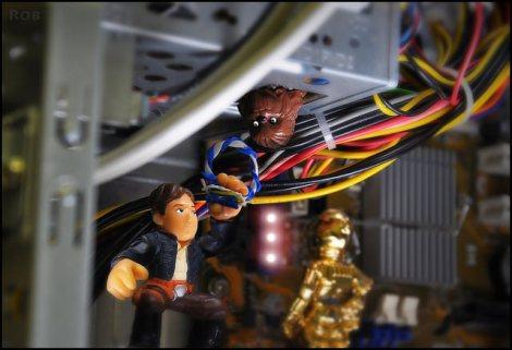 RepairingMillenniumFalcon