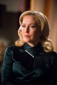 "HANNIBAL -- ""...and the Woman Clothed in the Sun"" Episode 310 -- Pictured: Gillian Anderson as Bedelia Du Maurier -- (Photo by: Brooke Palmer/NBC)"