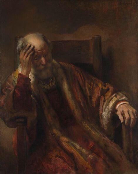 Rembrandt-OldManInChair