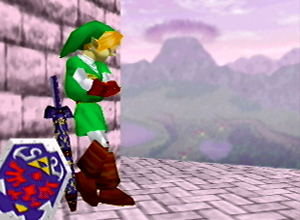 "Link, seen here posing for his upcoming rap album ""The Hero of Rhyme"""