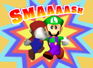 SSB64_Congratulations_Luigi