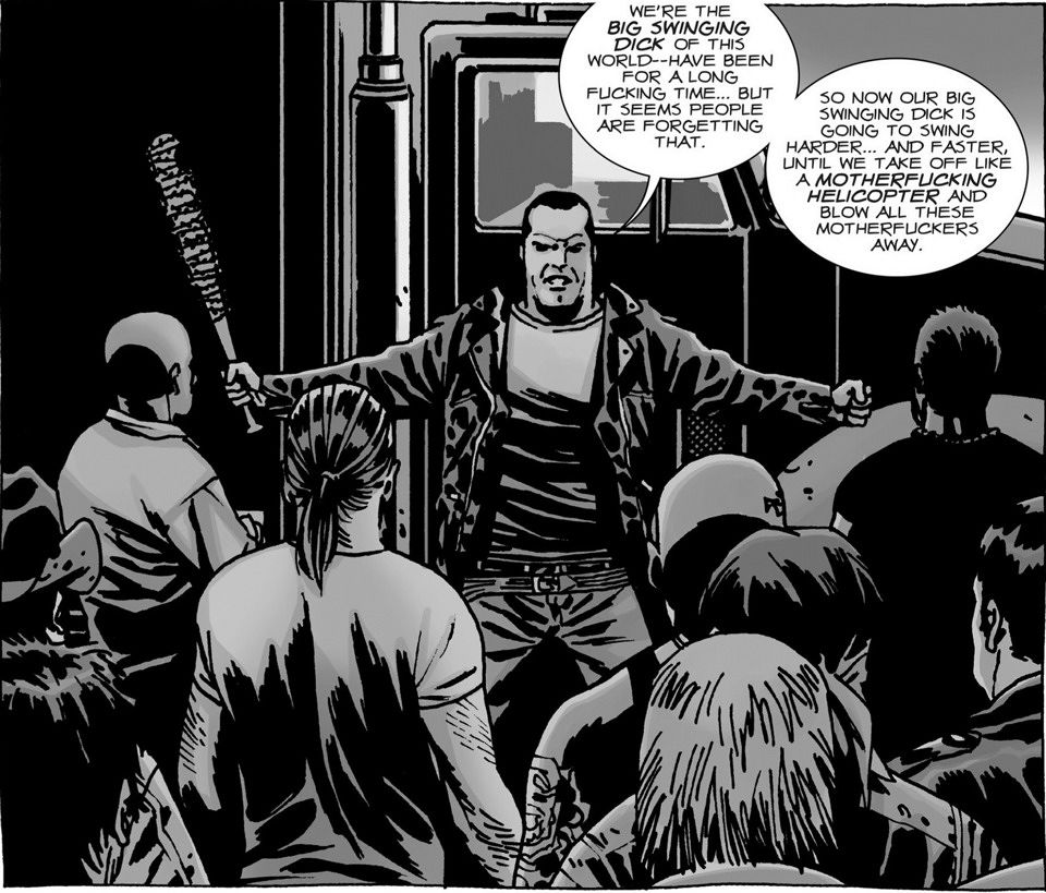 Is Free Comic Book Day Worth It Reddit: Who The Hell Is: Negan?!
