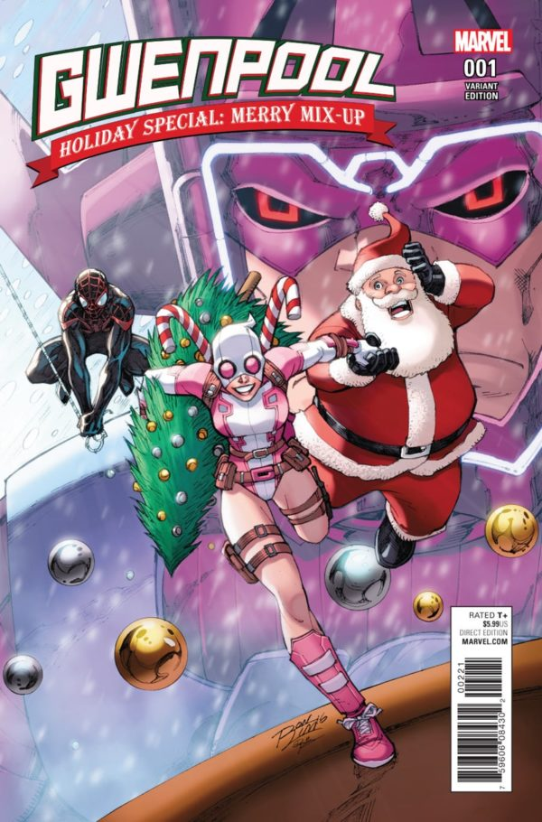 Comic Book Storytelling Gwenpool Holiday Special Merry