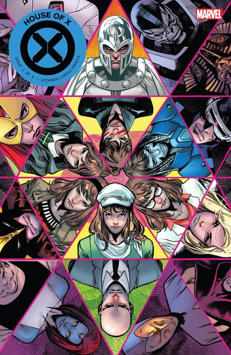 House Of X (2019-) #2 (of 6) CR: Marvel Comics